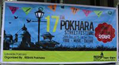 Pokhara celebrating Street Festival