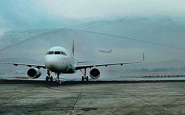 Sagarmatha Aircraft touches down